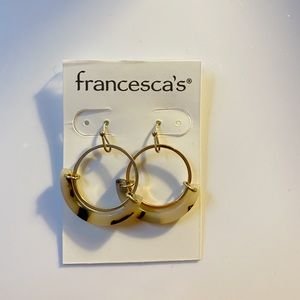 FRANCESCA'S ROUND EARRINGS